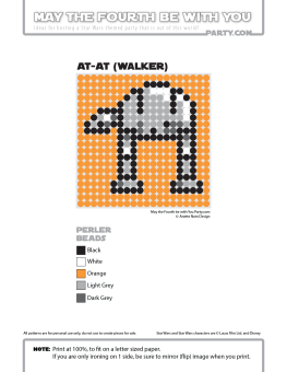 AT-AT Perler Pattern /// We add new patterns to our blog every week! Click the URL and follow us to make sure you don't miss any! /// Star Wars perler, hama bead, cross-stitch, knitting, Lego, pixel pattern /// Note: Patterns are ©, and your work must include © if posted, and can not be sold. See blog for complete ©. #pixel #pixelart #perler #perlerbeads #hama #hamabeads #starwars #crossstitch #lego #knitting #mosaic #atat maythefourthbewithyoupartyblog.com