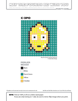 C-3PO Perler Pattern /// We add new patterns to our blog every week! Click the URL and follow us to make sure you don't miss any! /// Star Wars perler, hama bead, cross-stitch, knitting, Lego, pixel pattern /// Note: Patterns are ©, and your work must include © if posted, and can not be sold. See blog for complete ©. #pixel #pixelart #perler #perlerbeads #hama #hamabeads #starwars #crossstitch #lego #knitting #mosaic #c3po maythefourthbewithyoupartyblog.com