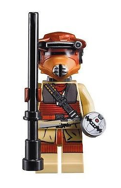 Star Wars Lego Mini-figs. Princess Leia as Boushh // Check out our blog for lots more Star Wars gift ideas. // #starwars #starwarsparty #maythefourthbewithyou #starwarsbirthday #legominifigs #lego #leia #princessleia maythefourthbewithyoupartyblog.com