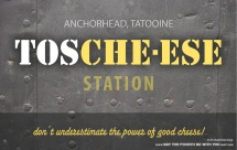 Star Wars Food: Downloadable Tosche-ese (Cheese) Station Sign /// Check out our blog for lots of Star Wars Party food recipes and downloadable labels! Great for a Birthday Party or a May the Fourth be with you Party. /// #starwars #starwarsparty #maythefourthbewithyou #starwarsbirthday #starwarsfood #cheese #toschestation maythefourthbewithyoupartyblog.com
