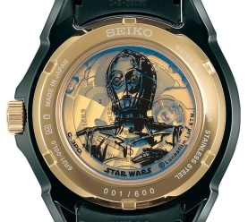 Limited Edition Seiko C-3PO Watch /// Check out all our other Star Wars clothing on our blog! // #starwars #starwarsparty #maythefourthbewithyou #starwarsbirthday #starwarsgift #c3po #seiko #watch maythefourthbewithyoupartyblog.com