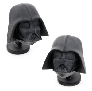 Darth Vader Cufflinks /// Check out all our other Star Wars gift ideas on our blog! // #starwars #starwarsparty #maythefourthbewithyou #starwarsbirthday #darthvader #cufflinks maythefourthbewithyoupartyblog.com