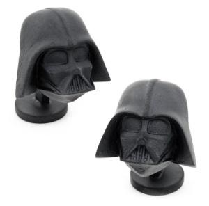 Darth Vader Cufflinks /// Check out all our other Star Wars gift ideas on our blog! // #starwars #starwarsparty #maythefourthbewithyou #starwarsbirthday #darthvader #cufflinks maythefourthbewithyoupartyblog.com