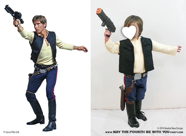 Who Shot First Diy Han Solo Costume May The Fourth Be With You