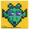Greedo Perler Pattern /// We add new patterns to our blog every week! Click the URL and follow us to make sure you don't miss any! /// Star Wars perler, hama bead, cross-stitch, knitting, Lego, pixel pattern /// Note: Patterns are ©, and your work must include © if posted, and can not be sold. See blog for complete ©. #pixel #pixelart #perler #perlerbeads #hama #hamabeads #starwars #crossstitch #lego #knitting #mosaic #greedo maythefourthbewithyoupartyblog.com