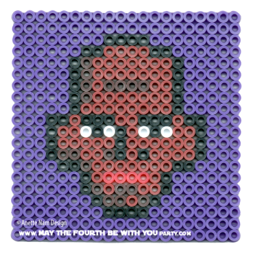 Mace Windu Perler Pattern /// We add new patterns to our blog every week! Click the URL and follow us to make sure you don't miss any! /// Star Wars perler, hama bead, cross-stitch, knitting, Lego, pixel pattern /// Note: Patterns are ©, and your work must include © if posted, and can not be sold. See blog for complete ©. #pixel #pixelart #perler #perlerbeads #hama #hamabeads #starwars #crossstitch #lego #knitting #mosaic #mace #macewindu maythefourthbewithyoupartyblog.com