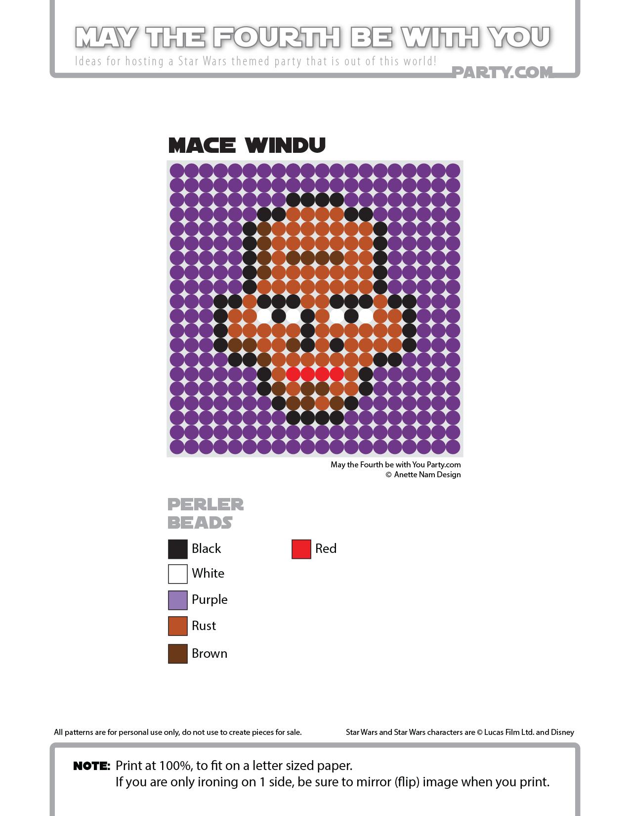 Origami Mace Windu instrux by JoshB and Ewok instrux by MattB ... | 1650x1275