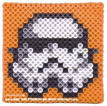 Storm Trooper Perler Bead Pattern