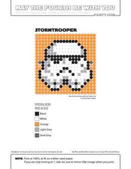 Stormtrooper Perler Pattern /// We add new patterns to our blog every week! Click the URL and follow us to make sure you don't miss any! /// Star Wars perler, hama bead, cross-stitch, knitting, Lego, pixel pattern /// Note: Patterns are ©, and your work must include © if posted, and can not be sold. See blog for complete ©. #pixel #pixelart #perler #perlerbeads #hama #hamabeads #starwars #crossstitch #lego #knitting #mosaic #stormtrooper maythefourthbewithyoupartyblog.com