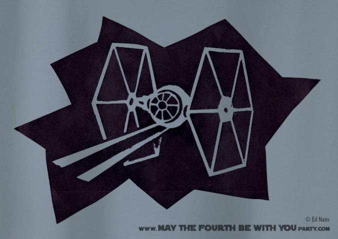Star Wars T-shirt. Check out all our other Star Wars shirts and costumes on our blog! #starwars #tshirt #starwarsparty #maythefourthbewithyou #starwarsbirthday #starwarscostume maythefourthbewithyoupartyblog.com