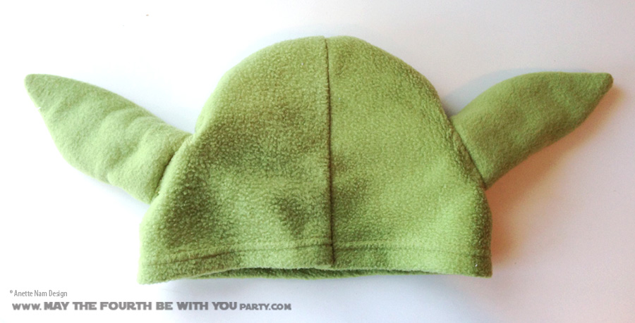 Its All In The Ears Diy Yoda Hat May The Fourth Be With You Party