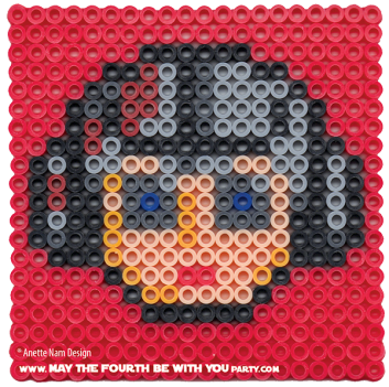 Anakin Skywalker Podrace Perler Pattern /// We add new patterns to our blog every week! Click the URL and follow us to make sure you don't miss any! /// Star Wars perler, hama bead, cross-stitch, knitting, Lego, pixel pattern /// Note: Patterns are ©, and your work must include © if posted, and can not be sold. See blog for complete ©. #pixel #pixelart #perler #perlerbeads #hama #hamabeads #starwars #crossstitch #lego #knitting #mosaic #anakin #anakinskywalker maythefourthbewithyoupartyblog.com