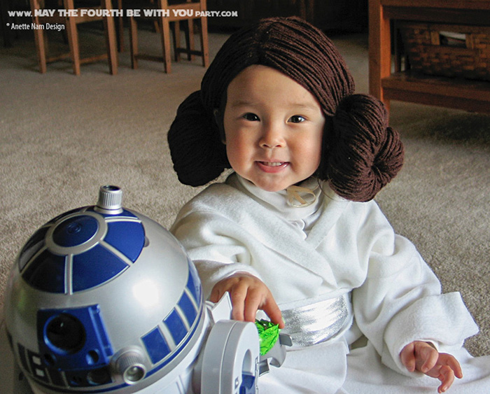 Princess Leia Is A Disney Princess Diy Princess Leia Costume