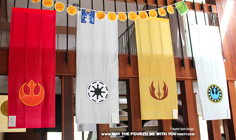 Show Your True Colors Diy Banners May The Fourth Be With You Party