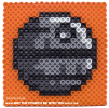 Death Star Perler Pattern /// We add new patterns to our blog every week! Click the URL and follow us to make sure you don't miss any! /// Star Wars perler, hama bead, cross-stitch, knitting, Lego, pixel pattern /// Note: Patterns are ©, and your work must include © if posted, and can not be sold. See blog for complete ©. #pixel #pixelart #perler #perlerbeads #hama #hamabeads #starwars #crossstitch #lego #knitting #mosaic #deathstar maythefourthbewithyoupartyblog.com