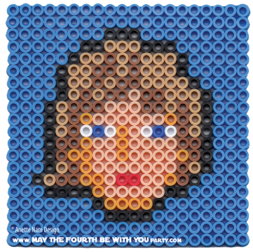 Luke Skywalker Perler Pattern /// We add new patterns to our blog every week! Click the URL and follow us to make sure you don't miss any! /// Star Wars perler, hama bead, cross-stitch, knitting, Lego, pixel pattern /// Note: Patterns are ©, and your work must include © if posted, and can not be sold. See blog for complete ©. #pixel #pixelart #perler #perlerbeads #hama #hamabeads #starwars #crossstitch #lego #knitting #mosaic #luke #lukeskywalker maythefourthbewithyoupartyblog.com