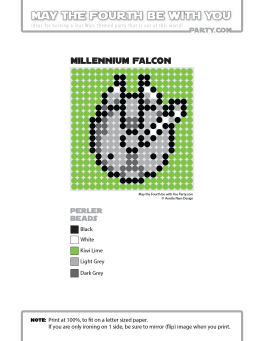 Millennium Falcon Perler Pattern /// We add new patterns to our blog every week! Click the URL and follow us to make sure you don't miss any! /// Star Wars perler, hama bead, cross-stitch, knitting, Lego, pixel pattern /// Note: Patterns are ©, and your work must include © if posted, and can not be sold. See blog for complete ©. #pixel #pixelart #perler #perlerbeads #hama #hamabeads #starwars #crossstitch #lego #knitting #mosaic #milleniumfalcon maythefourthbewithyoupartyblog.com