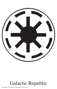 Star Wars Banner icons-Galactic Republic: Star Wars Flags and Banners (Downloadable Empire and Rebel Symbols) // Check out our blog for lots more Star Wars crafts and decor. // #starwars #starwarsparty #maythefourthbewithyou #starwarsbirthday #banners #rebels #empire maythefourthbewithyoupartyblog.com