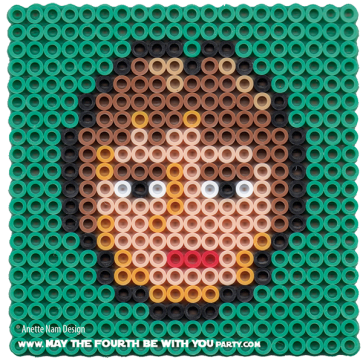 Han Solo Perler Pattern /// We add new patterns to our blog every week! Click the URL and follow us to make sure you don't miss any! /// Star Wars perler, hama bead, cross-stitch, knitting, Lego, pixel pattern /// Note: Patterns are ©, and your work must include © if posted, and can not be sold. See blog for complete ©. #pixel #pixelart #perler #perlerbeads #hama #hamabeads #starwars #crossstitch #lego #knitting #mosaic #han #hansolo maythefourthbewithyoupartyblog.com
