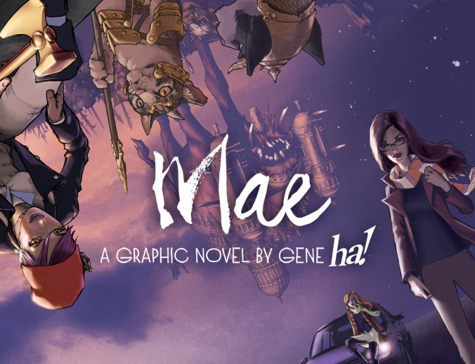 Mae Graphic Novel Cover maythefourthbewithyoupartyblog.com