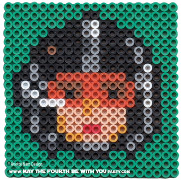 Wedge X-wing Pilot Perler Pattern /// We add new patterns to our blog every week! Click the URL and follow us to make sure you don't miss any! /// Star Wars perler, hama bead, cross-stitch, knitting, Lego, pixel pattern /// Note: Patterns are ©, and your work must include © if posted, and can not be sold. See blog for complete ©. #pixel #pixelart #perler #perlerbeads #hama #hamabeads #starwars #crossstitch #lego #knitting #mosaic #wedge #xwing #xwingpilot #luke maythefourthbewithyoupartyblog.com