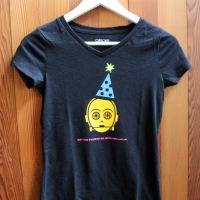 DIY Party C-3PO Shirt