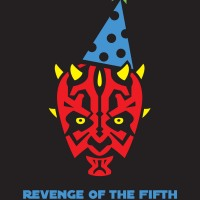 Revenge of the Fifth!  (DIY Party Darth Maul Shirts)