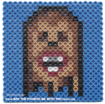 Chewbacca Wookiee Perler Pattern /// We add new patterns to our blog every week! Click the URL and follow us to make sure you don't miss any! /// Star Wars perler, hama bead, cross-stitch, knitting, Lego, pixel pattern /// Note: Patterns are ©, and your work must include © if posted, and can not be sold. See blog for complete ©. #pixel #pixelart #perler #perlerbeads #hama #hamabeads #starwars #crossstitch #lego #knitting #mosaic #wookiee #chewbacca maythefourthbewithyoupartyblog.com