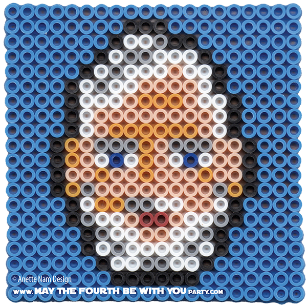 Obi Two Kenobis Perler Bead Coaster May The Fourth Be With You Party