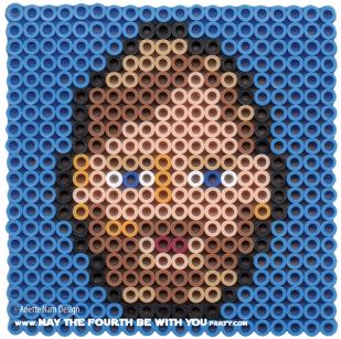 Obi-wan Kenobi Perler Pattern /// We add new patterns to our blog every week! Click the URL and follow us to make sure you don't miss any! /// Star Wars perler, hama bead, cross-stitch, knitting, Lego, pixel pattern /// Note: Patterns are ©, and your work must include © if posted, and can not be sold. See blog for complete ©. #pixel #pixelart #perler #perlerbeads #hama #hamabeads #starwars #crossstitch #lego #knitting #mosaic #obiwan #obiwankenobi maythefourthbewithyoupartyblog.com