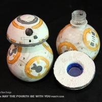Love in a (BB-8 Water) Bottle! (DIY)