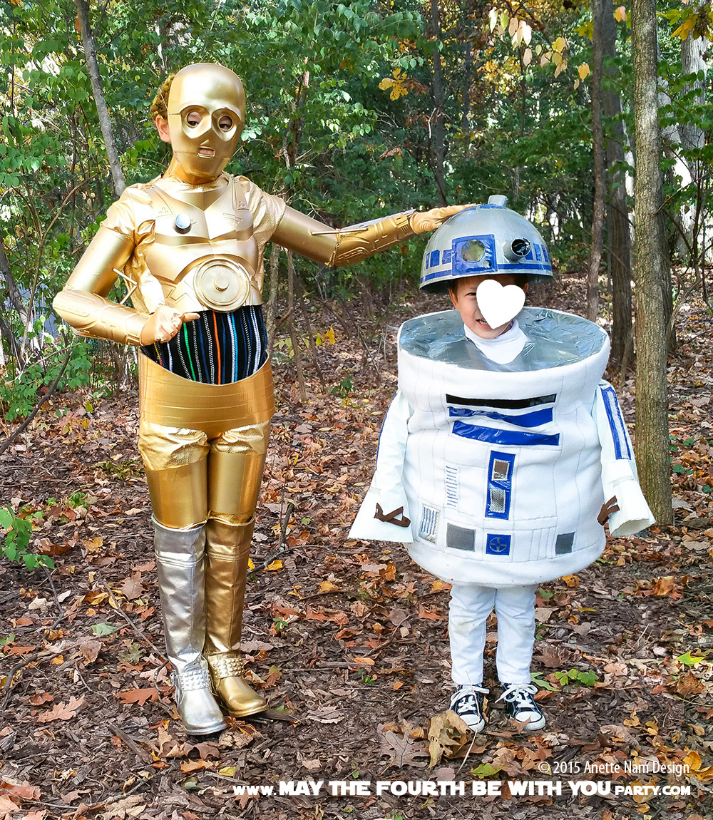 R2d2 And C3po Costumes These ARE the D...