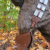 Who knew Chewie had a Purse? (DIY Wookiee Belt and Bag)