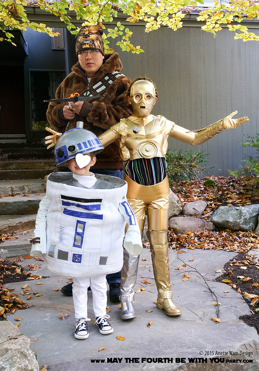 R2d2 And C3po Costumes Chewbacca | May...