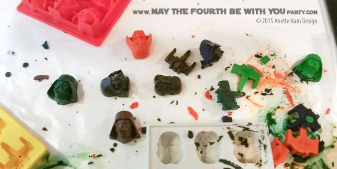 DIY Star Wars Crayons 1