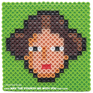 Princess Leia Perler Pattern /// We add new patterns to our blog every week! Click the URL and follow us to make sure you don't miss any! /// Star Wars perler, hama bead, cross-stitch, knitting, Lego, pixel pattern /// Note: Patterns are ©, and your work must include © if posted, and can not be sold. See blog for complete ©. #pixel #pixelart #perler #perlerbeads #hama #hamabeads #starwars #crossstitch #lego #knitting #mosaic #princessleia #Leia maythefourthbewithyoupartyblog.com