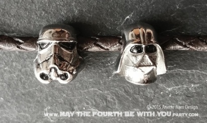 Star Wars Charm Bracelet and Jewelry/// Check out our blog for lots of Star Wars gift ideas /// #starwars #starwarsgift #maythefourthbewithyou #starwarsbirthday #jewelry #christmaspresent #starwarsjewelry #darthvader #stormtrooper #silver #stainlesssteel #charm #charmbracelet maythefourthbewithyoupartyblog.com