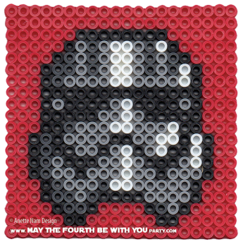 Captain Phasma Perler Pattern. /// We add new patterns to our blog every week! Click the URL and follow us to make sure you don't miss any! /// Star Wars perler, hama bead, cross-stitch, knitting, Lego, pixel pattern /// Note: Patterns are ©, and your work must include © if posted, and can not be sold. See blog for complete ©. #pixel #pixelart #perler #perlerbeads #hama #hamabeads #starwars #crossstitch #lego #knitting #mosaic #captainphasma #theforceawakens maythefourthbewithyoupartyblog.com