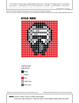 Kylo Ren Perler Pattern. /// We add new patterns to our blog every week! Click the URL and follow us to make sure you don't miss any! /// Star Wars perler, hama bead, cross-stitch, knitting, Lego, pixel pattern /// Note: Patterns are ©, and your work must include © if posted, and can not be sold. See blog for complete ©. #pixel #pixelart #perler #perlerbeads #hama #hamabeads #starwars #crossstitch #lego #knitting #mosaic #kyloren #theforceawakens maythefourthbewithyoupartyblog.com