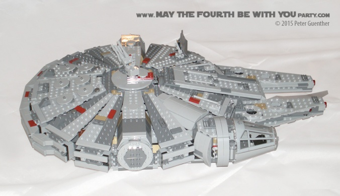 Review Of The Lego Millennium Falcon Set 75105 May The Fourth Be