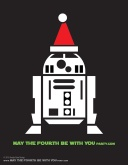DIY R2-D2 Christmas T-shirt/Stencil Pattern. This and many other patterns can be downloaded from our blog. /// Note: Patterns are ©, and your work must include © if posted, and can not be sold. See blog for complete ©. #r2d2 #starwars #tshirt #starwarsparty #maythefourthbewithyou #starwarscostume #pattern #christmas maythefourthbewithyoupartyblog.com