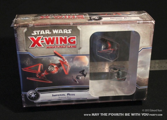 Imperial Aces: TIE fighter TIE interceptor. Star Wars X-Wing Miniatures Game /// We add new Star Wars fun on our blog every week! /// #starwars #theforceawakens #xwingminiaturesgame #boardgames #review #xwing #tiefighter #tieinterceptor/// maythefourthbewithyoupartyblog.com
