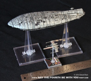 X-Wing Transport. Star Wars X-Wing Miniatures Game /// We add new Star Wars fun on our blog every week! /// #starwars #theforceawakens #xwingminiaturesgame #boardgames #review #xwing #transport/// maythefourthbewithyoupartyblog.com