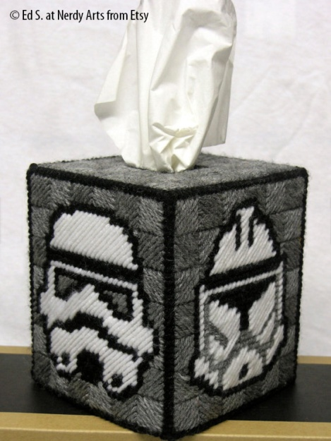 Stormtrooper Tissue Cover