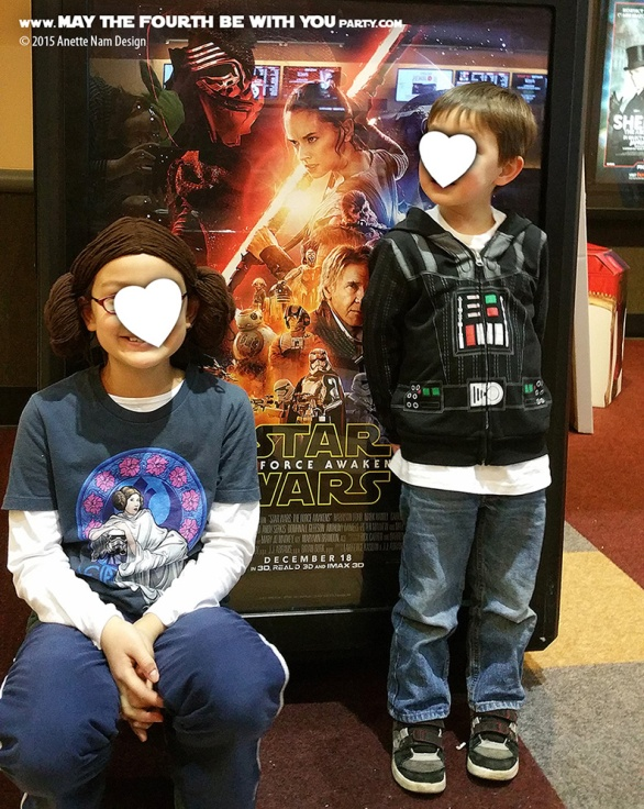 Why kids should watch The Force Awakens /// We add new Star Wars posts to our blog every week! /// #starwars #theforceawakens #review #rey #finn #kyloren #poe #princessleia #darthvader /// maythefourthbewithyoupartyblog.com