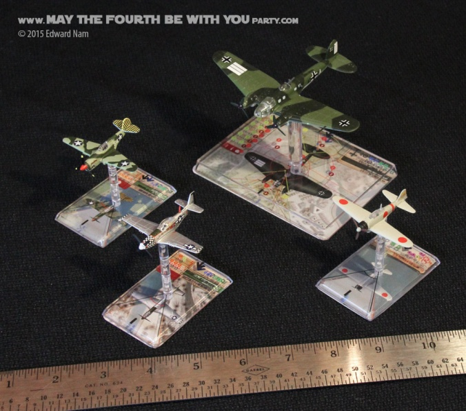 Wings of Glory/Wings of War Card and Miniatures Game /// We add new Star Wars fun on our blog every week! /// #starwars #theforceawakens #xwingminiaturesgame #boardgames #review #wingsofglory #wingsofwar/// maythefourthbewithyoupartyblog.com