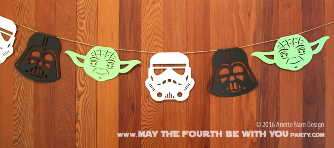 even more diy star wars banners