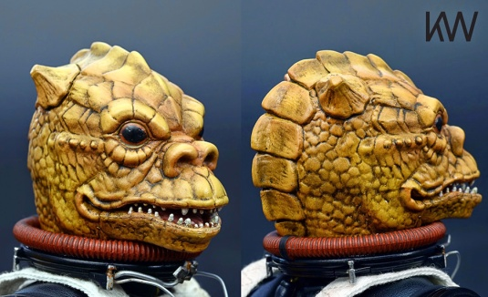 KW Miniature custom painted Bossk figure
