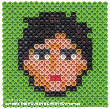 Poe Dameron Perler Pattern. /// We add new patterns to our blog every week! Click the URL and follow us to make sure you don't miss any! /// Star Wars perler, hama bead, cross-stitch, knitting, Lego, pixel pattern /// Note: Patterns are ©, and your work must include © if posted, and can not be sold. See blog for complete ©. #pixel #pixelart #perler #perlerbeads #hama #hamabeads #starwars #crossstitch #lego #knitting #mosaic #poe #poedameron #theforceawakens maythefourthbewithyoupartyblog.com