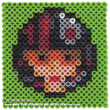 Poe Dameron, X-wing Pilot Perler Pattern. /// We add new patterns to our blog every week! Click the URL and follow us to make sure you don't miss any! /// Star Wars perler, hama bead, cross-stitch, knitting, Lego, pixel pattern /// Note: Patterns are ©, and your work must include © if posted, and can not be sold. See blog for complete ©. #pixel #pixelart #perler #perlerbeads #hama #hamabeads #starwars #crossstitch #lego #knitting #mosaic #poe #poedameron Xwing #theforceawakens maythefourthbewithyoupartyblog.com